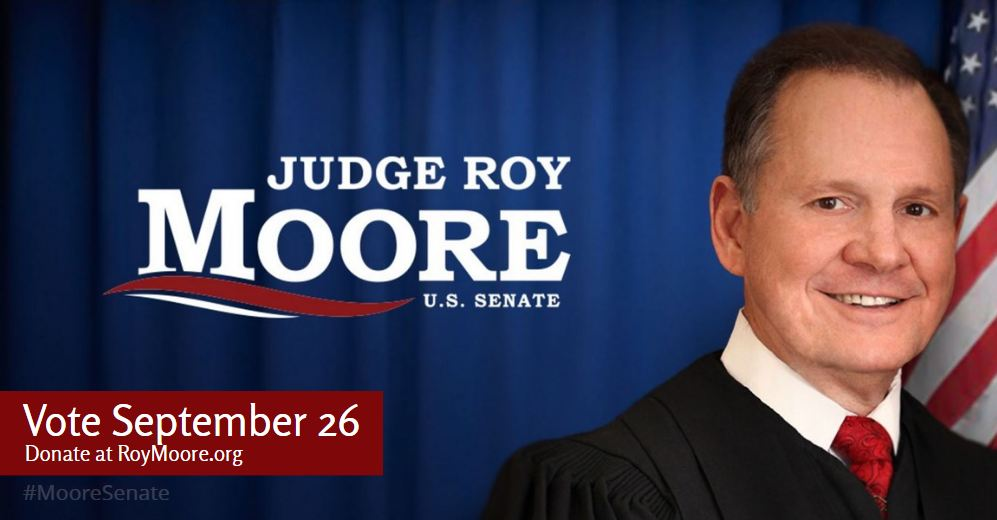 Help make Judge Roy Moore #Alabama&#39;s next U.S. Senator!  Volunteer! Donate!  Vote!   http:// RoyMoore.org  &nbsp;   #MooreSenate #ALGOP #ALSEN #TCOT<br>http://pic.twitter.com/n8LvVWQiKO
