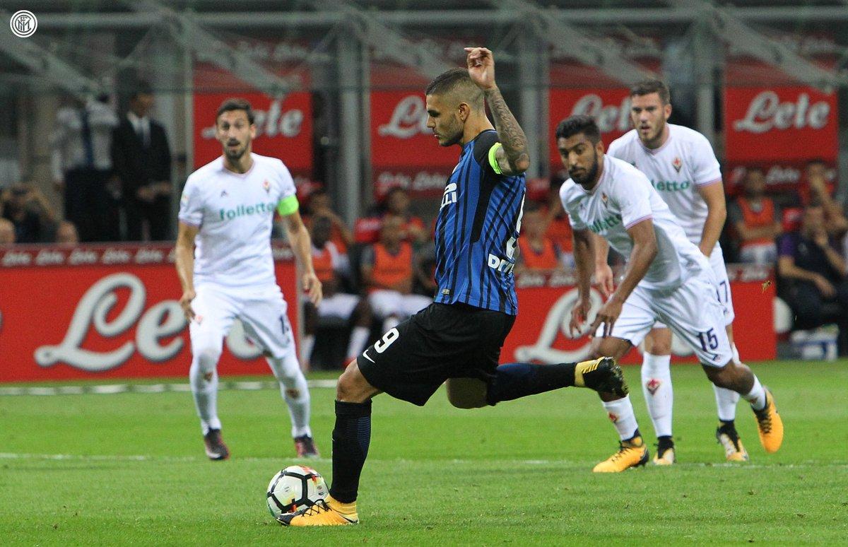 📸Prime immagini da San Siro: i gol e l'esultanza di @MauroIcardi! #In...