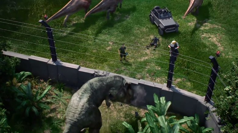 Jurassic World Evolution dévoilé ! #gamescom2017 #gcjvcom #Xboxgc http...