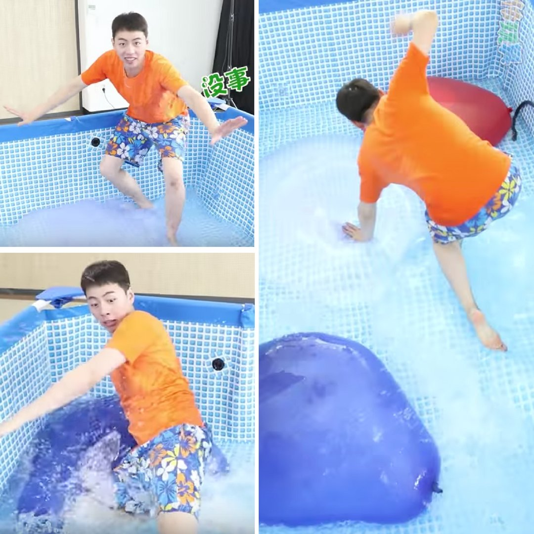 This guy iused Wubbles &amp; giant balloons to make a #NinjaWarrior style obstacle course!  http:// bit.ly/2hPi6a5  &nbsp;   #WubbleBubble #bubbles #balls <br>http://pic.twitter.com/rsmKLV4sVr