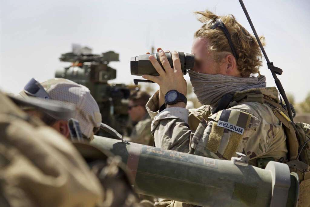 Belgian Special Forces Group during the Tal Afar offensive