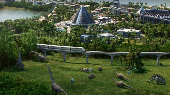 Jurassic World Evolution is a dinosaur theme park sim coming next summ...