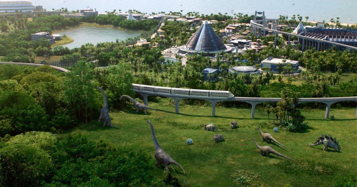 Build your own dinosaur park in 'Jurassic World Evolution' https://t.c...