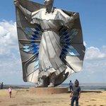 Worth celebrating! 50' Statue just erected in South Dakota called Dignity. Honours the Lakota & Dakota people!👍🇨🇦🇺🇸🌈
