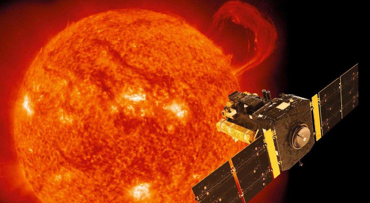#Astronomie  Le cœur du #Soleil tourne 4 fois plus vite que sa surface...