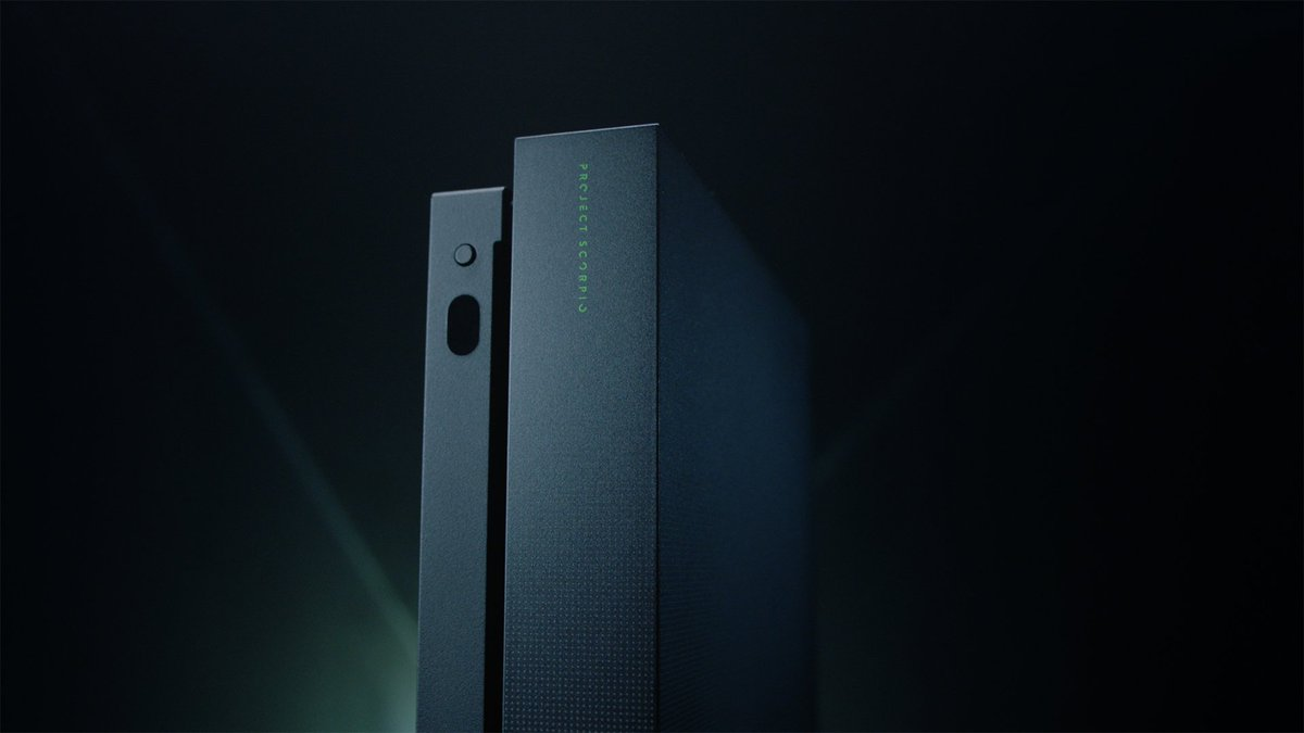 Introducing the exclusive #XboxOneX Project Scorpio Edition. https://t...