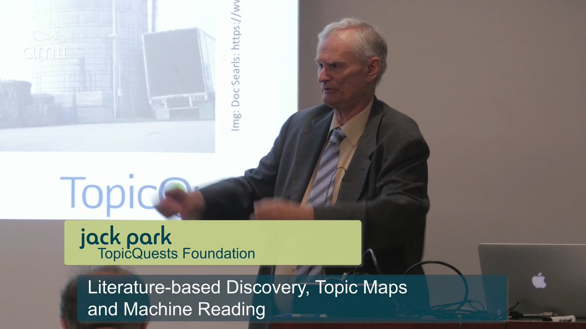 Jack Park – Literature-based Discovery, Topic Maps and Machine Reading  https://www. dub.io/s/336084  &nbsp;   #jack #park<br>http://pic.twitter.com/lJAxBtBGWJ