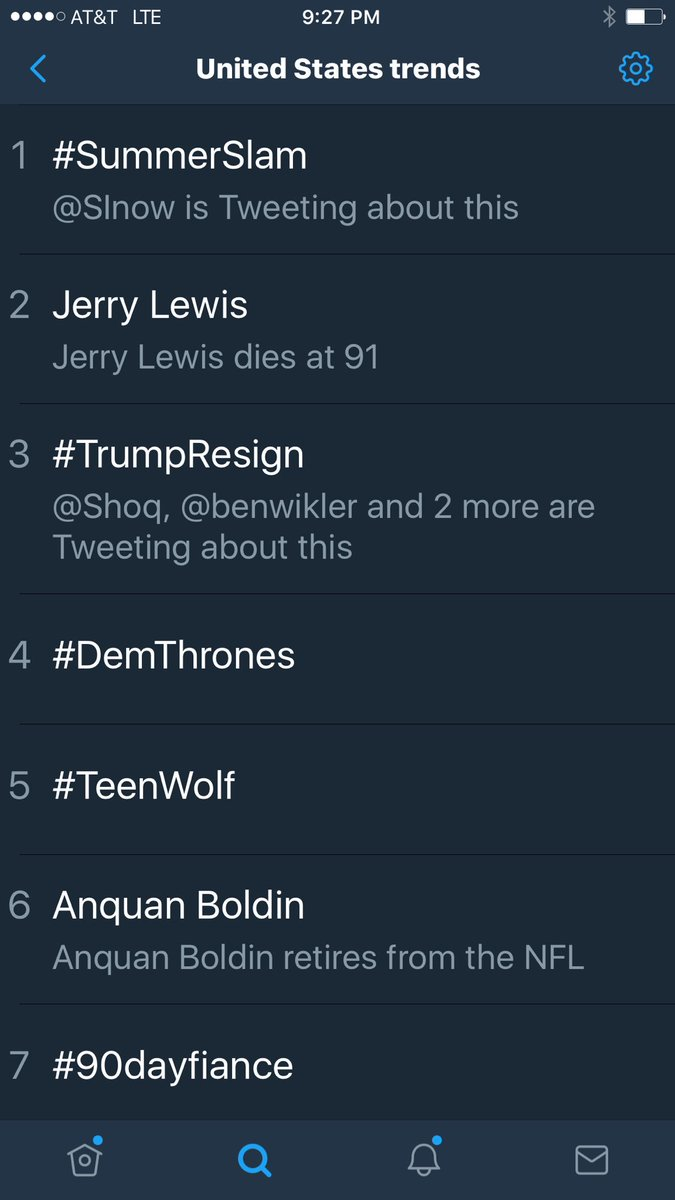 Hey @SpeakerRyan! Did you see #TrumpResign is trending 3rd on Twitter?...
