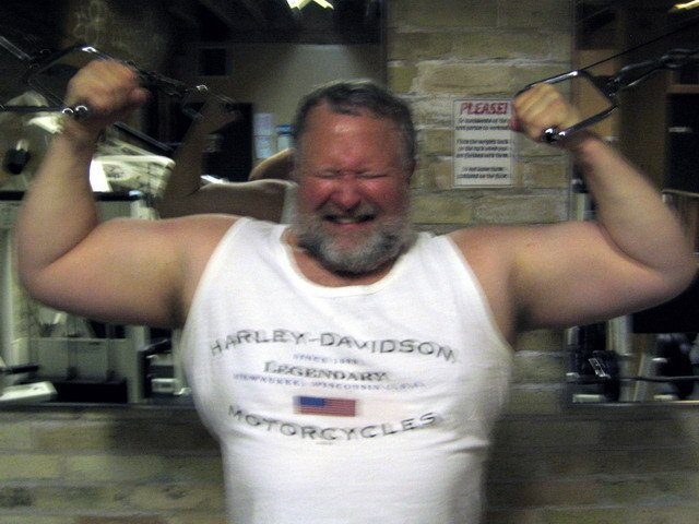 My Wisconsin gym bud from  http:// GLOBALFIGHT.com  &nbsp;   #wisconsin #gym #workout #weightlifter #weightlifting #strong #strength #fitness #big #man <br>http://pic.twitter.com/HALW0aLcCi