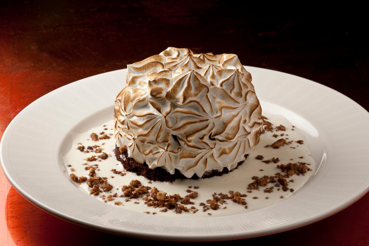 Time to go climbing. Is Strip House's Baked Alaska big enough for you?