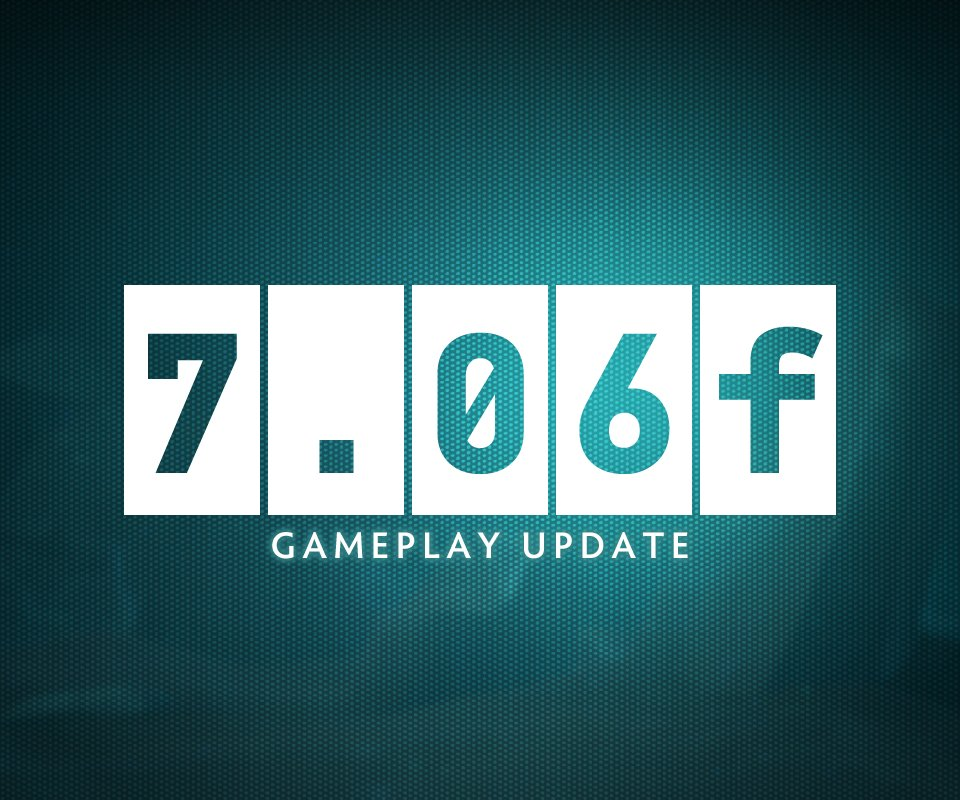 Dota 7.06f is now LIVE!! https://t.co/uH...