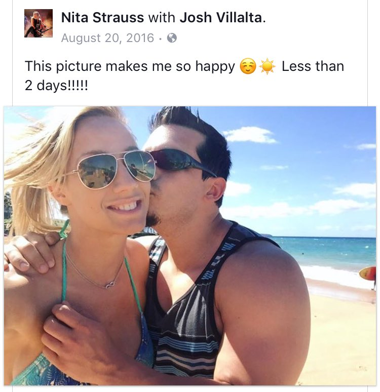 Nita Strauss Boyfriend
