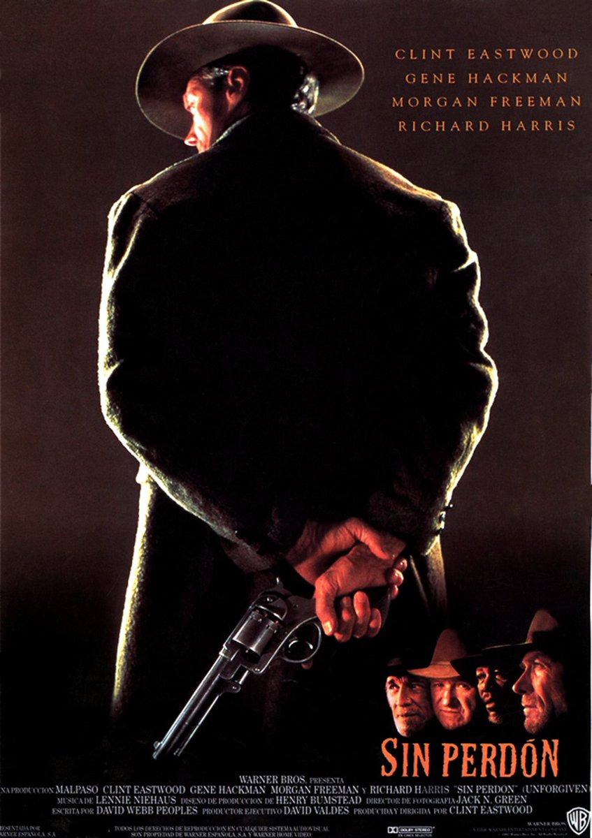 #42 Sin Perdon (Clint Eastwood 1992) [8/10] Western/Drama #CineVistoEn2017 #cine #SinPerdon #Unforgiven <br>http://pic.twitter.com/MtdRKrCswb
