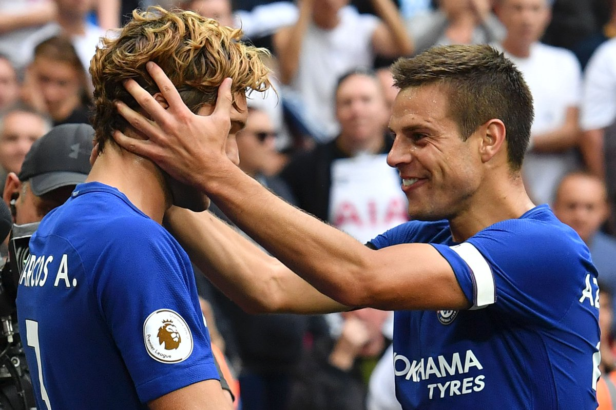 "Squawka Football on Twitter ""César Azpilicueta has started two"