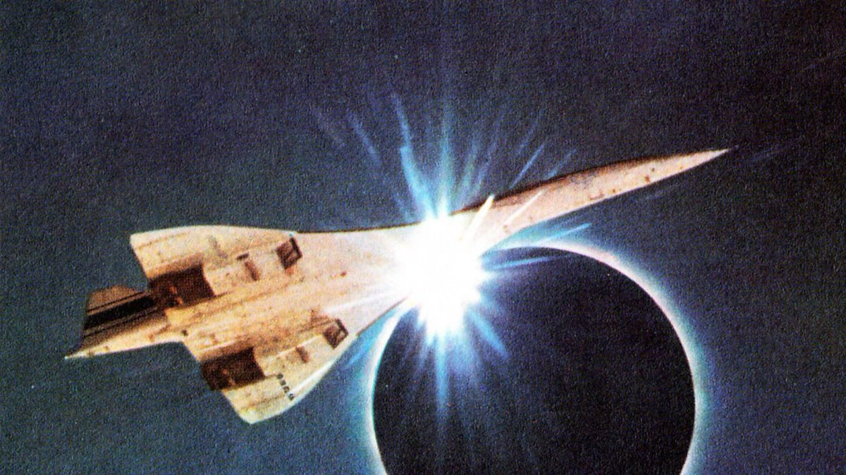 When astronomers chased a total eclipse in a Concorde https://t.co/nCrKM1Sz2y #Eclipse2017