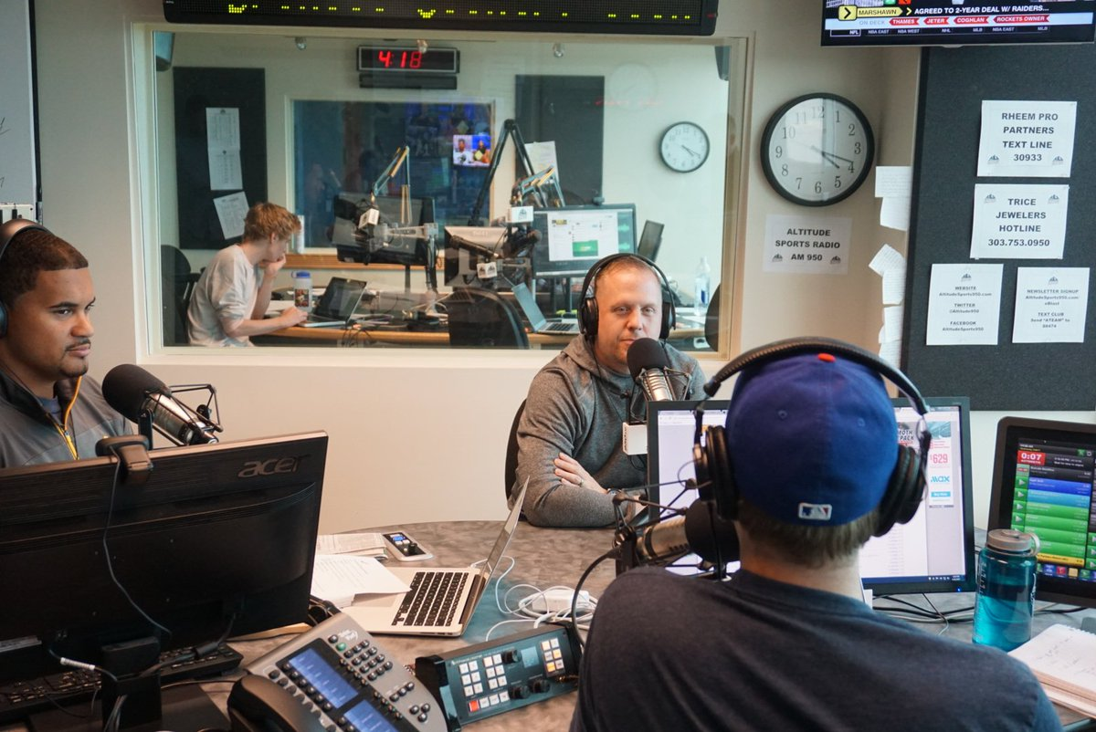 Happy #NationalRadioDay to our friends at Altitude 950!