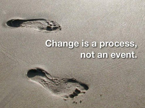 #Change is a process, not an event.   #inspiration<br>http://pic.twitter.com/bYfOQkw3mv