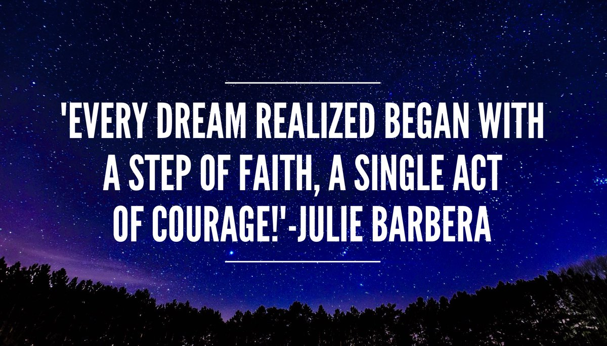 &#39;Every dream unrealized is like a great book never written,a hit song never sung.Every #dream realized..&#39; #ThinkBIGSundayWithMarsha #StepOut<br>http://pic.twitter.com/SKf6apc413