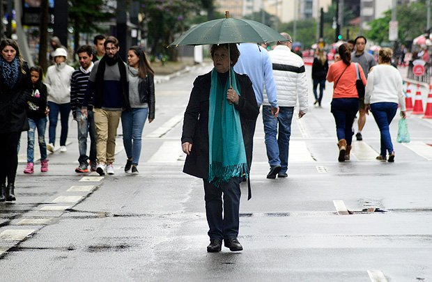 São Paulo terá 'clima gangorra' em semana com frio, calor, sol e chuva https://t.co/XtxfJQy6TF