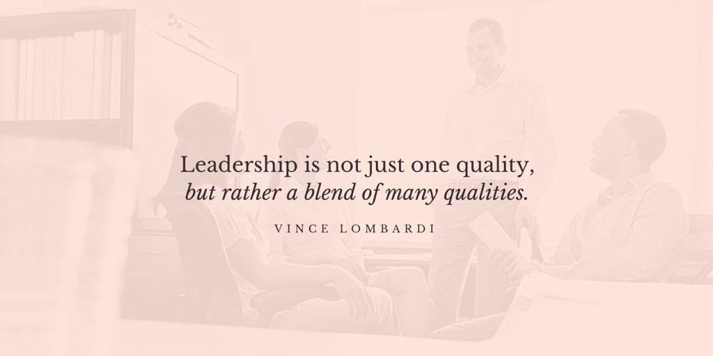 &quot;Leadership is not just one quality, but rather a blend of many qualities.&quot; #VinceLombardi  #quotes #influence<br>http://pic.twitter.com/PC93wnYQjh