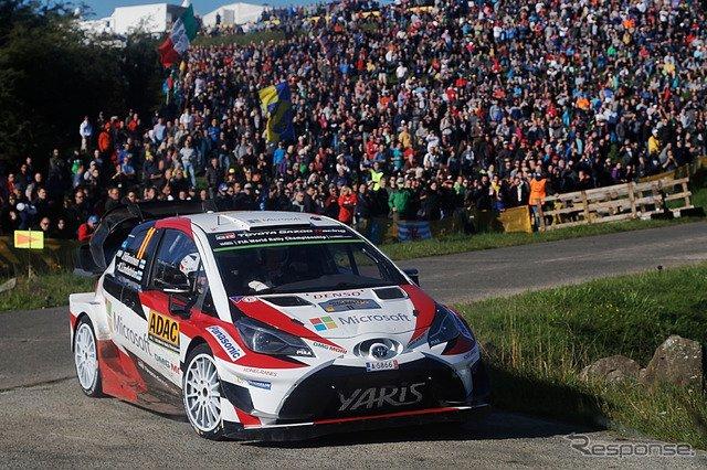【WRC 第10戦】舗装路ドイツ戦、トヨタ勢は最高4位…優勝はフィエスタのタナクで2勝目 https://t.co/Bf6D71rVHe  #TOYOTA #トヨタ #トヨタファンはRT