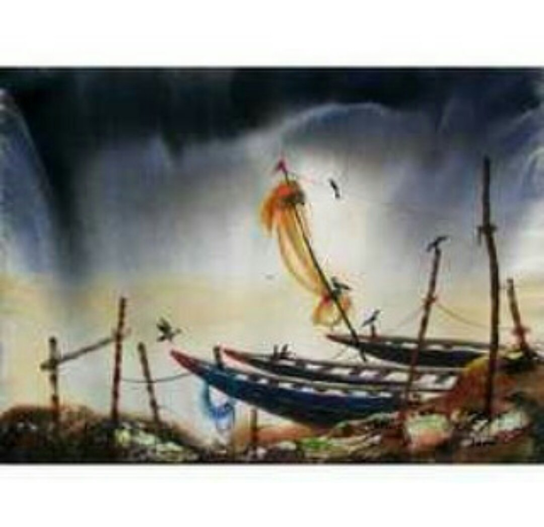Sailor  DM us for commission order. #canvas #painting  #art #Pirates #Oil #painting<br>http://pic.twitter.com/L5VxioyEA8