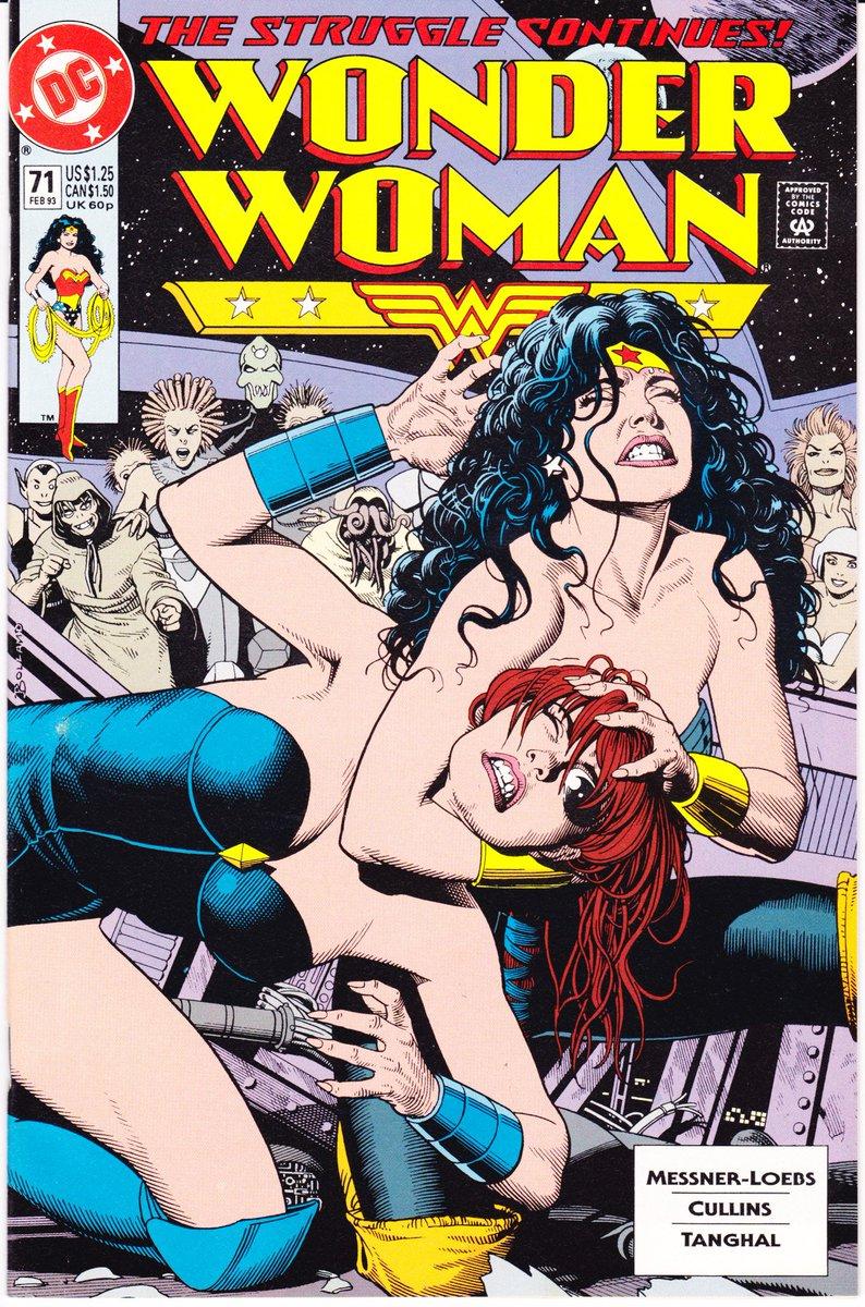 #WonderWoman  71  http:// ebay.to/2xgkpGa  &nbsp;   1993 Sweet lady #wrestling cover, #BrianBolland #Art #Comics Opening bid .99 cents, ends in 20 min<br>http://pic.twitter.com/jIq8RDqniy