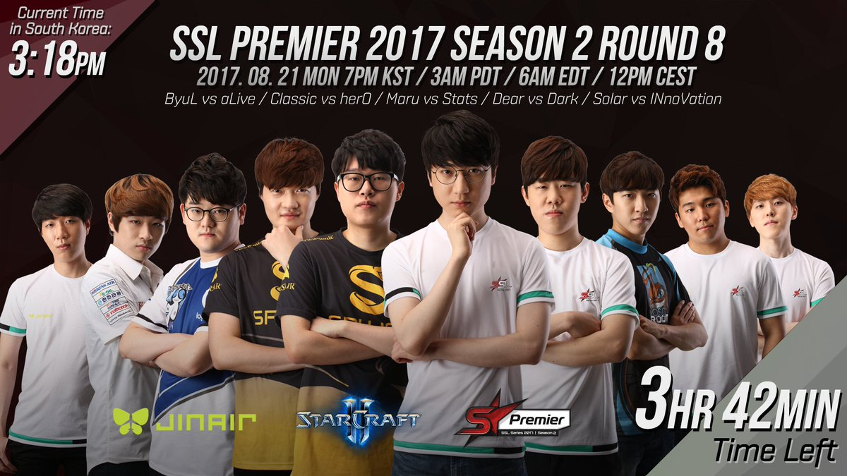 2017 SSL Premier 2. szezon 8. hét