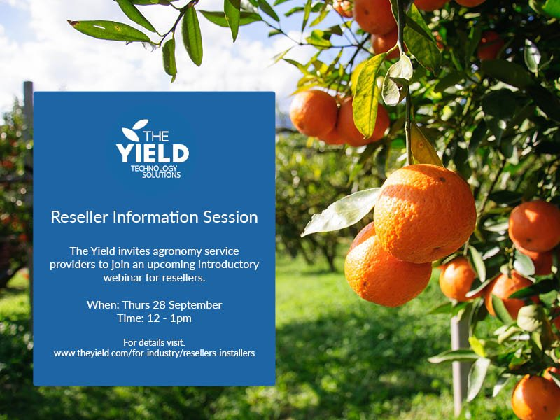 Are you an #agronomy provider in AUS? Join this webinar to learn about our product &amp; Reseller Program.  http:// bit.ly/2x4bEj2  &nbsp;   #agchatoz<br>http://pic.twitter.com/Dl9HpKNedH