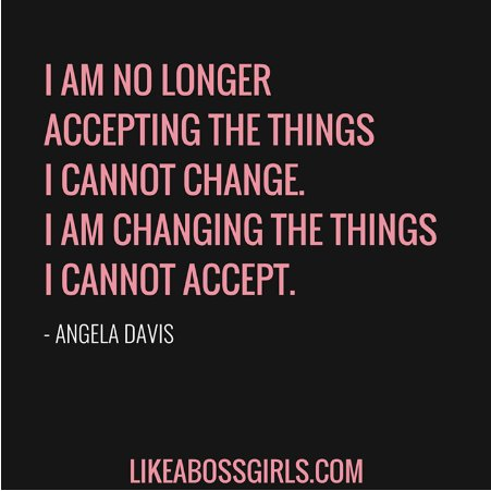 I am no longer accepting the things I cannot #CHANGE . I am changing the things I cannot accept. #ThinkBIGSundayWithMarsha<br>http://pic.twitter.com/JEnuuK1Tt7
