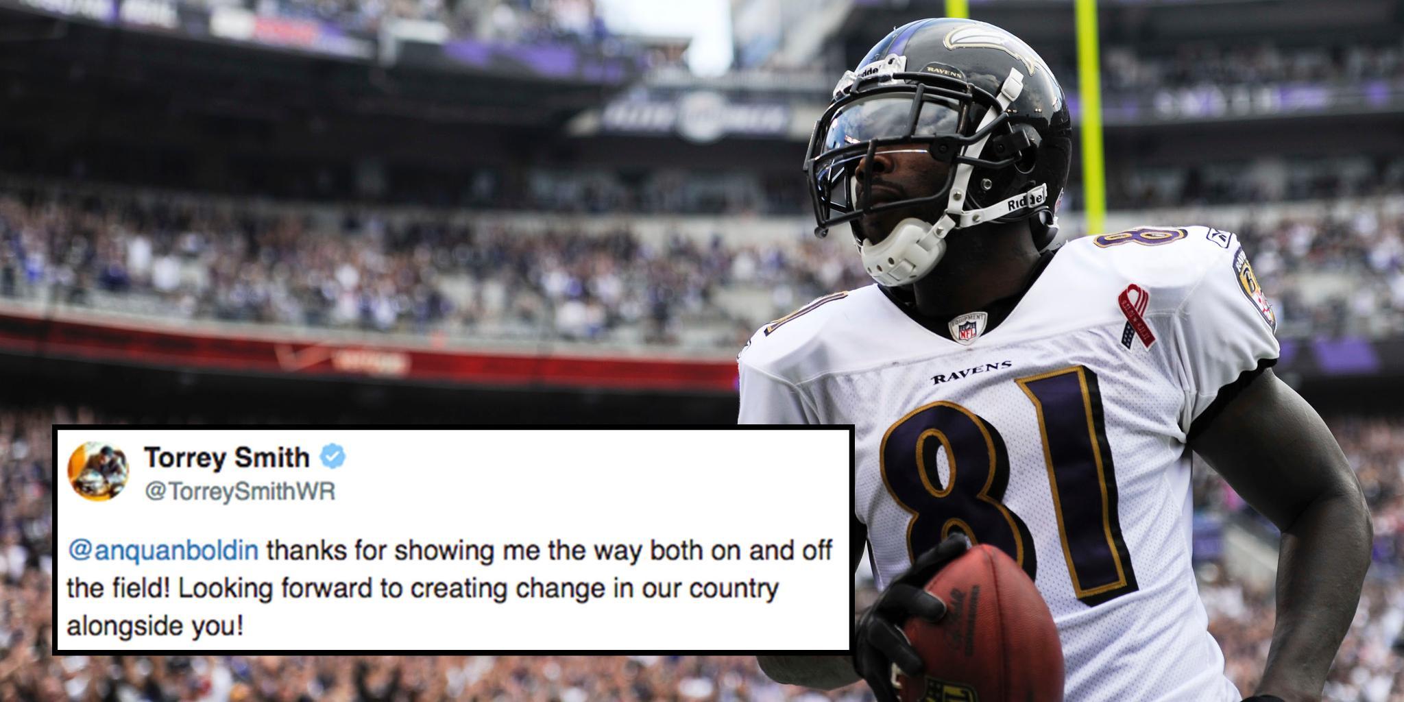 NFL players react to @AnquanBoldin retiring: https://t.co/f3GtCoIsbr https://t.co/FiiiIzYRw8