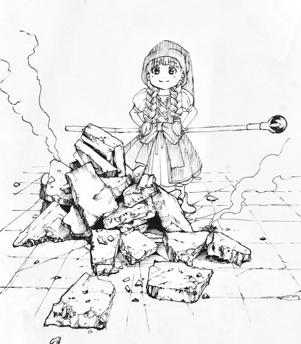 バトル漫画を描く時の瓦礫の描き...