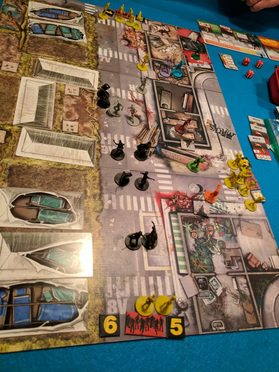 In a shocking Zombicide twist, everyone is going to die. #sarcasm #thi...