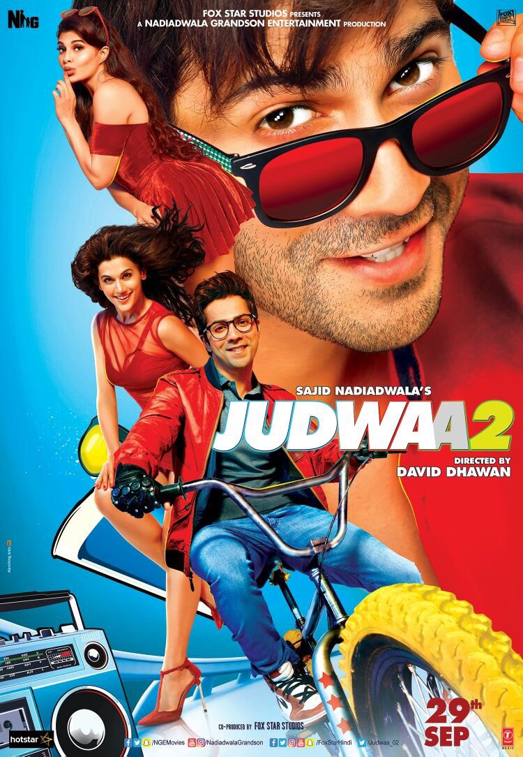 Judwaa 2 2017 Full Hindi Movie HD 720p 1080p Watch Official Trailer Download