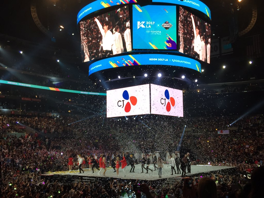 Another amazing night at KCON for the books! Don't be sad it's over, be happy it happened!