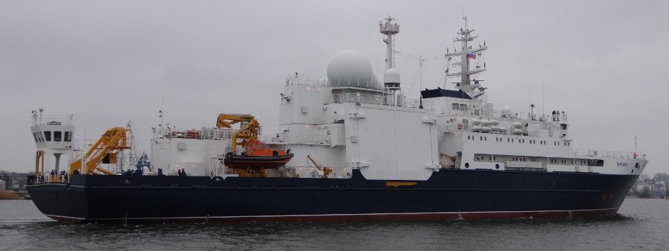 #Russia spy ship #Yantar heading to Med for annual Internet cable tapping deploymemt. Info on her last trip  http://www. hisutton.com/Yantar.html  &nbsp;  <br>http://pic.twitter.com/gZXV6gCjLj