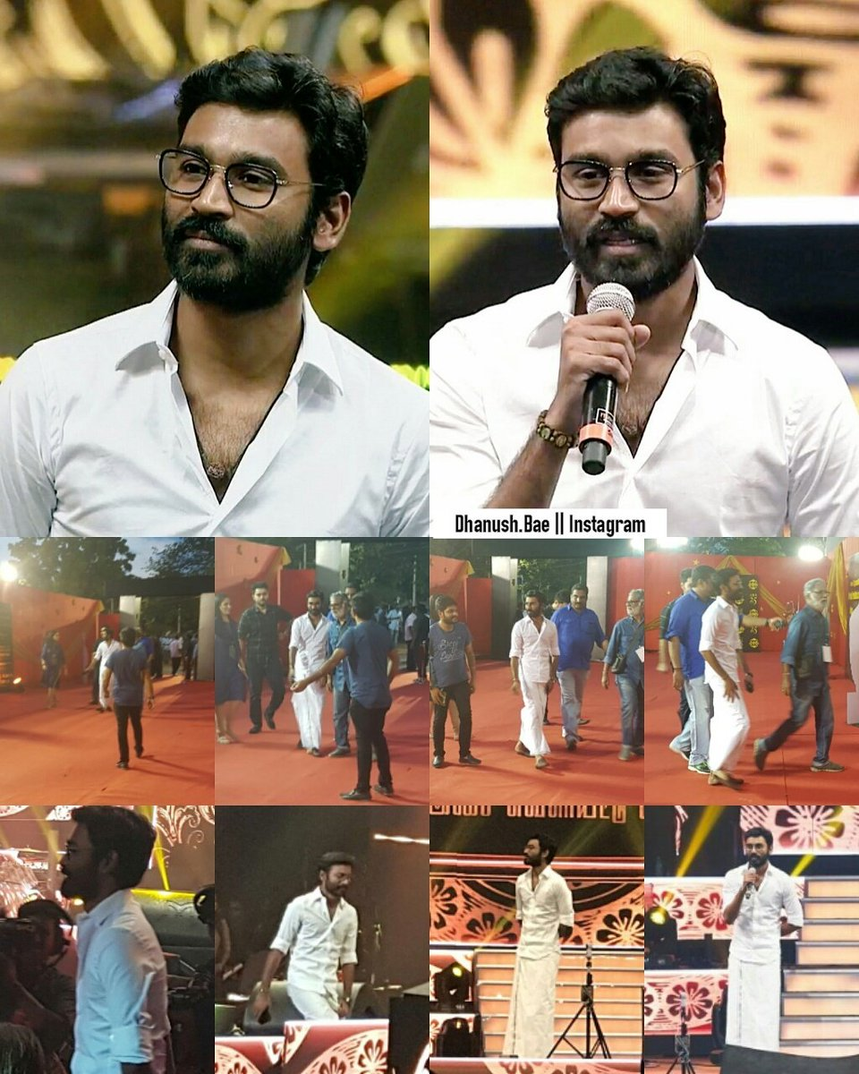 Thalaivar At #Mersal  #Audiolaunch  He is looking So #Handsome  &amp; #Verycute    @CrazyBoy_Offl Bro @RajeshDfan   @dhanushkraja Sir <br>http://pic.twitter.com/3SS3KCmAe4