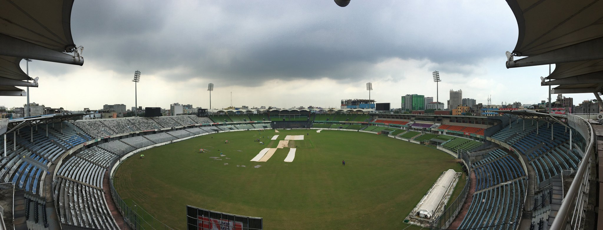 The venue for the first #BANvAUS Test starting Sunday! https://t.co/xbR7PkStTY