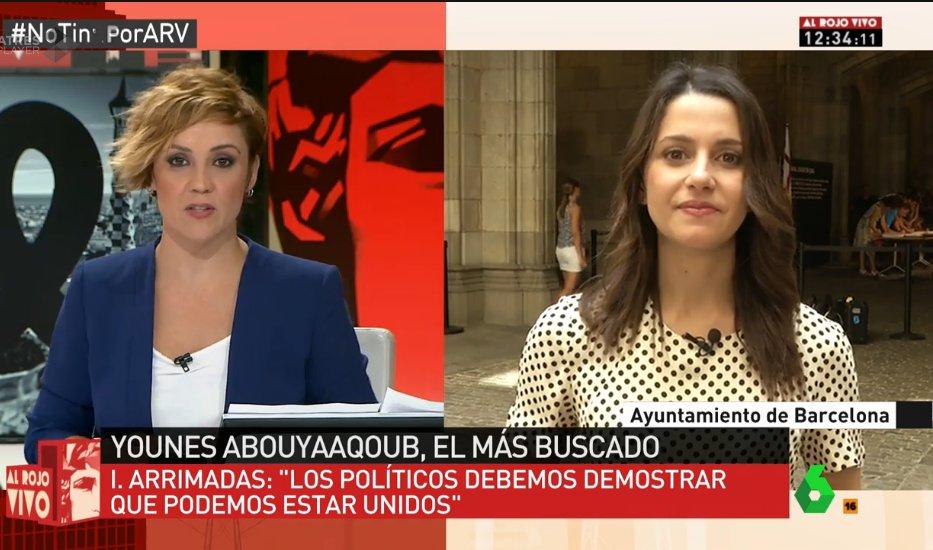 📺@InesArrimadas 'El govern debe abandonar su hoja de ruta, el 'procés...