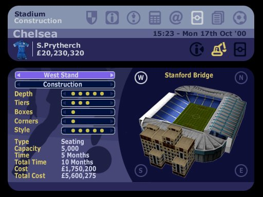 Image result for lma manager 2005 stadium building