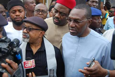 Ngige denied accepting the sum of N500m from Andy Uba to enhance his chances in APC Anambra guber election primaries held less than two weeks ago.