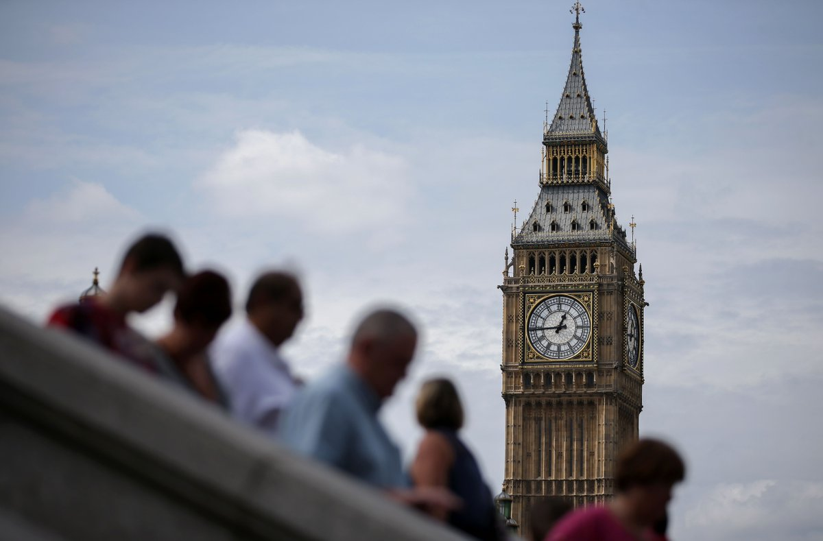 London's iconic Big Ben will peal for the last time at 7a ET before falling silent for four years - watch it live at https://t.co/R2WNDRWTRG
