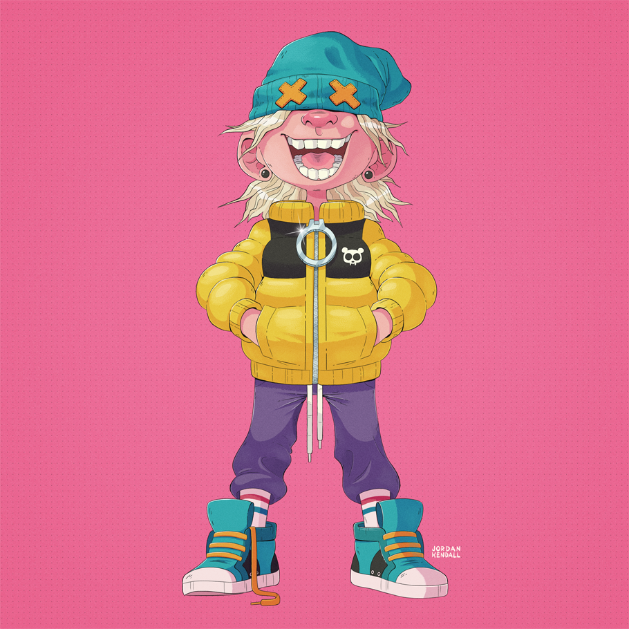 I finally finished colouring this happy chappie. RT&#39;s are greatly appreciated. #illustration <br>http://pic.twitter.com/m9efwCwbGp