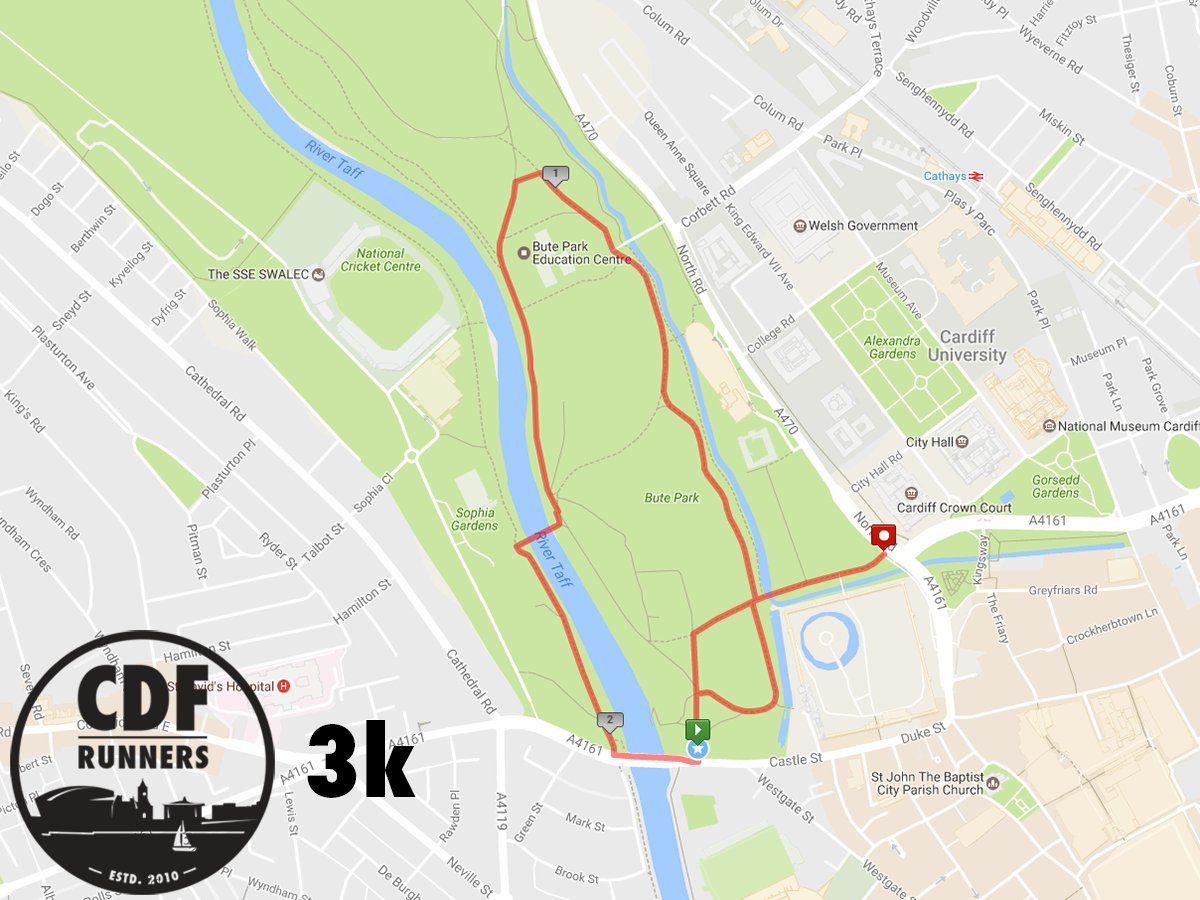 Monday Recovery Run tonight from 18:30 a...