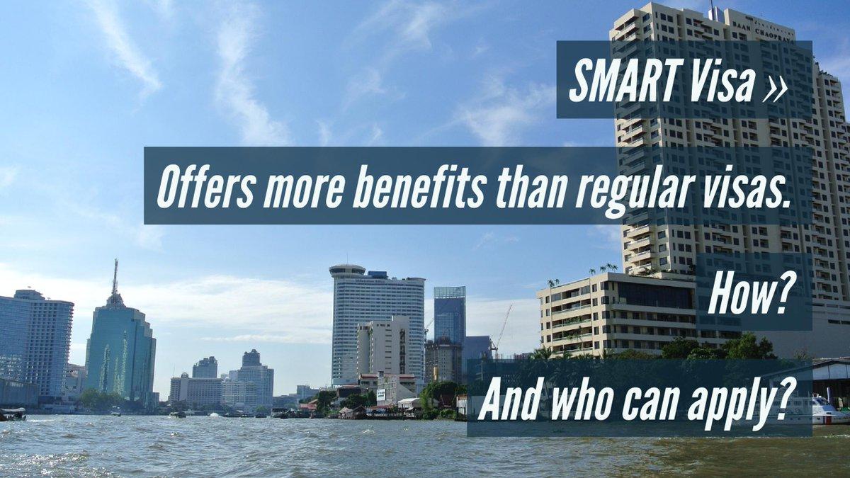 SMART Visa for Thailand - See information and 4 benefits here:  https://www. youtube.com/watch?v=hICfL2 FKLRI &nbsp; …   #visa #thailand #working #workpermit #smartvisa<br>http://pic.twitter.com/g6TxcXPGqB