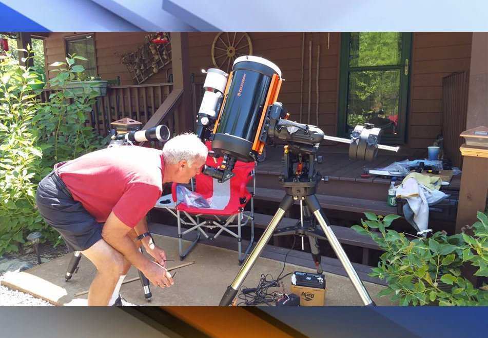 Local astronomers head to North Carolina for best views of Total Solar Eclipse. #EclipseAction https://t.co/3C54bd39PQ