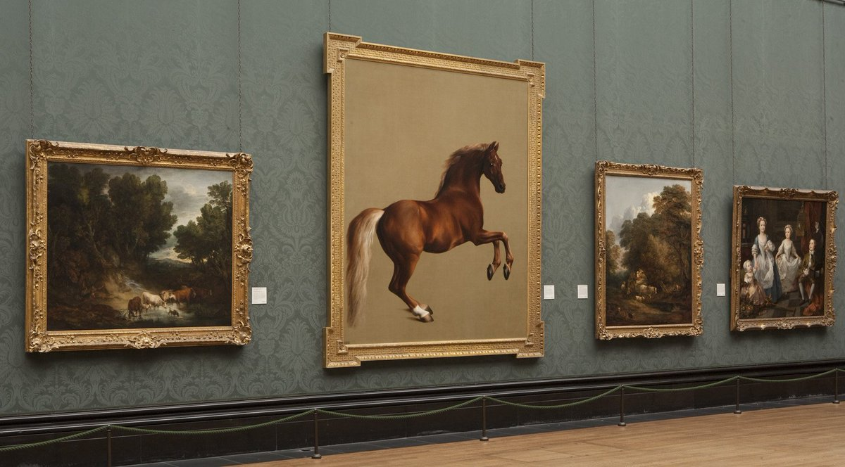 To celebrate George Stubbs's birthday this Friday, join us for a Facebook Live on 'Whistlejacket': https://t.co/IeyTpEqYPb