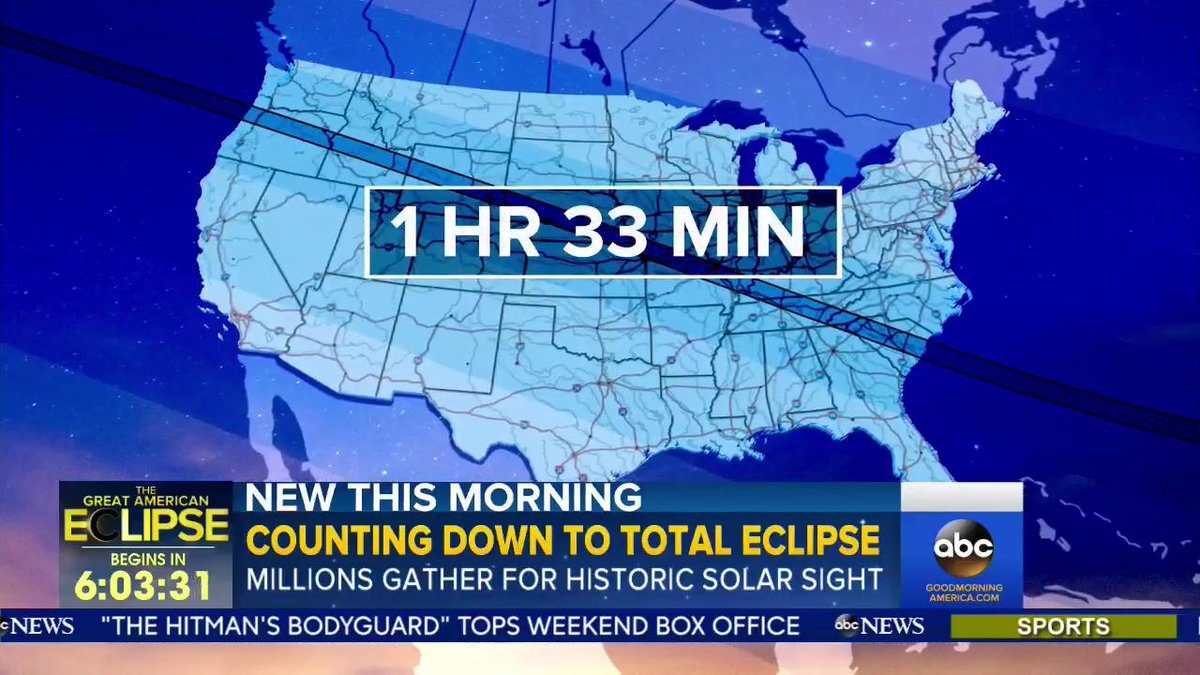 This #pathoftotality is 70 miles wide, 3,000 miles long and will take...