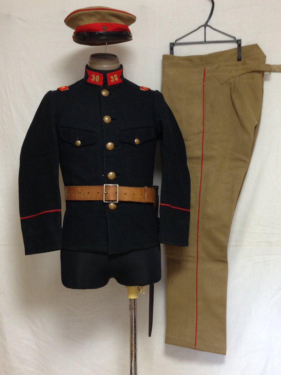 """鈴木一等卒 в Twitter: """"明治四十五年に改正された陸軍服装規則では ..."""