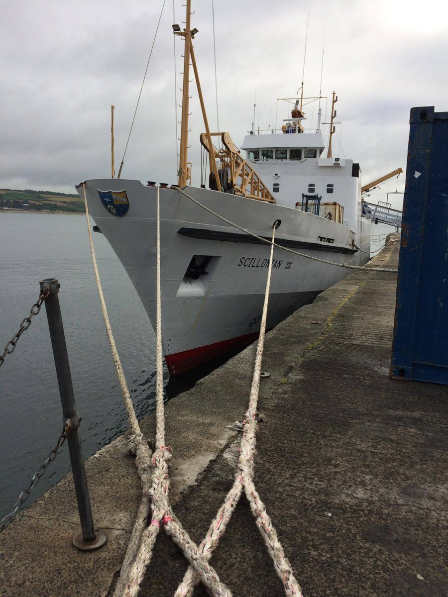 21/08/17 Scillonian III departed Penzance at 0919.